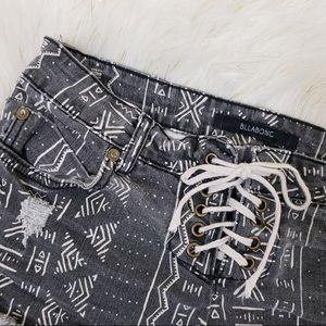 Billabong geometric shorts